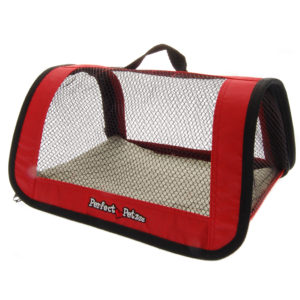 Red Pet Tote