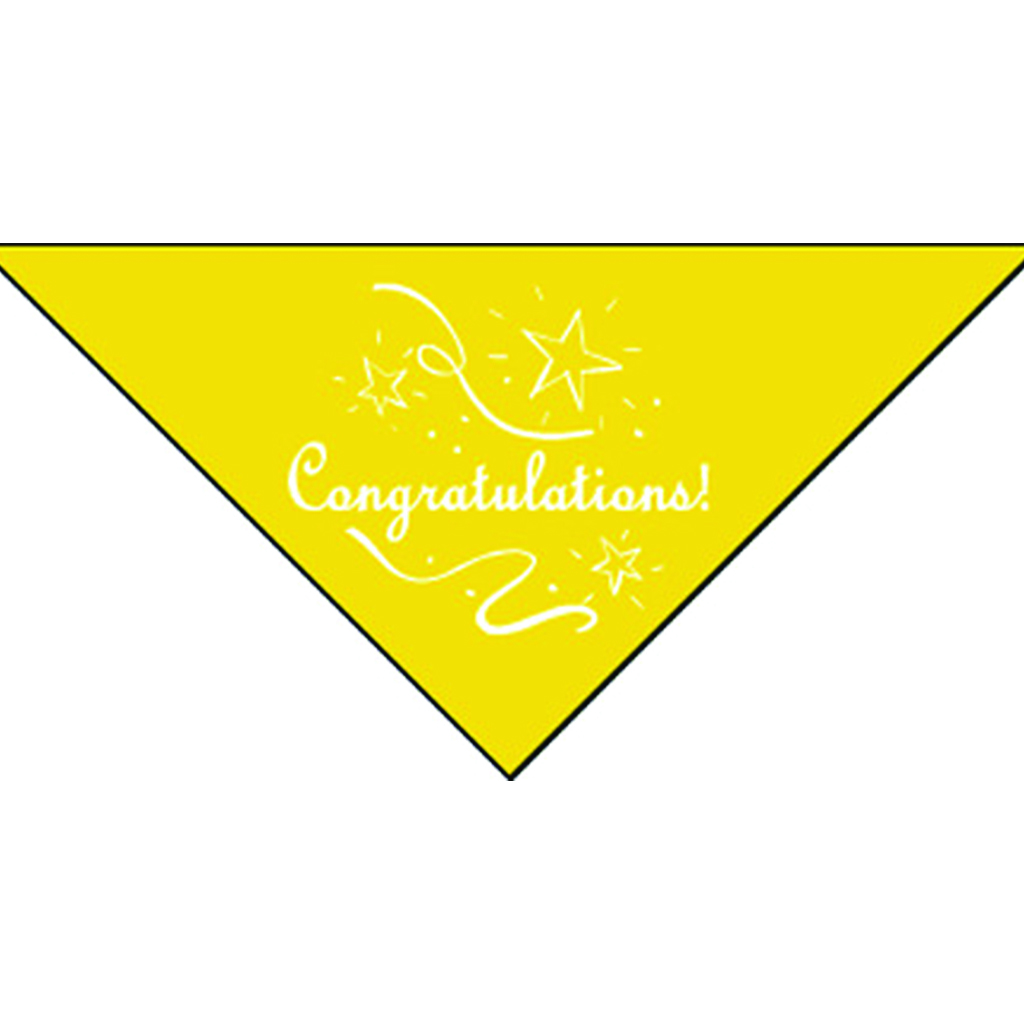 Congratulations Bandanna