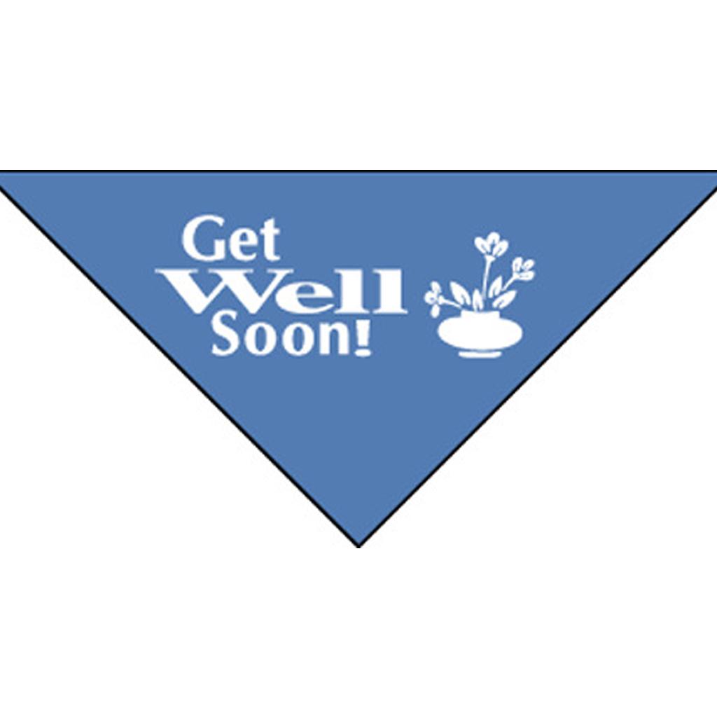 Get Well Soon Bandanna